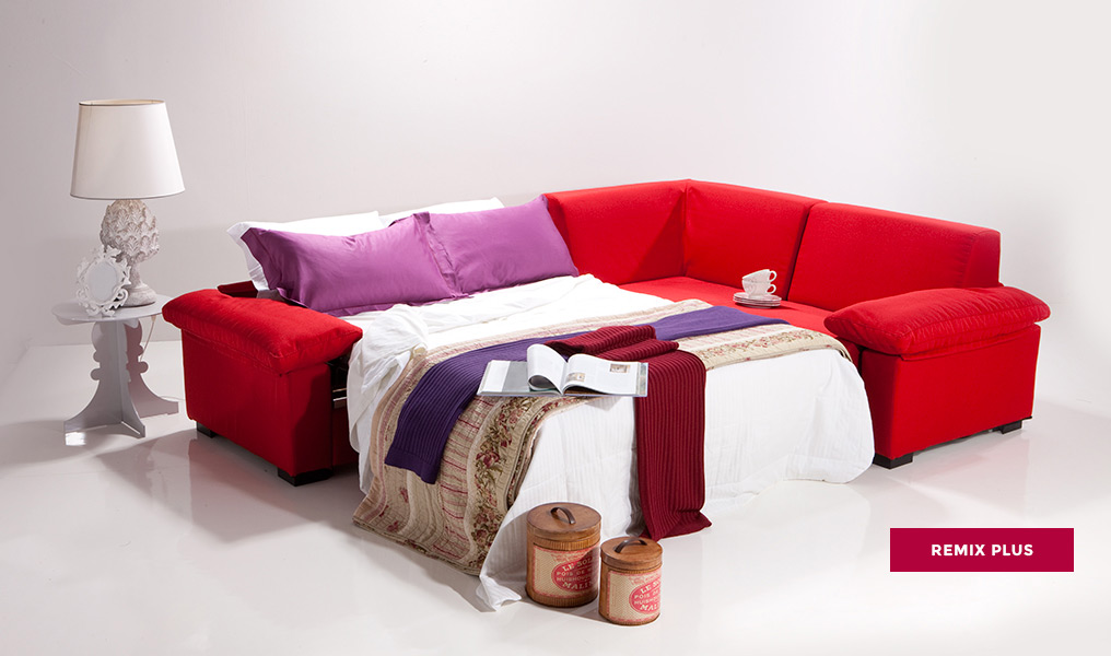 From sofa to bed rem by dondi salotti - Divano letto dondi ...
